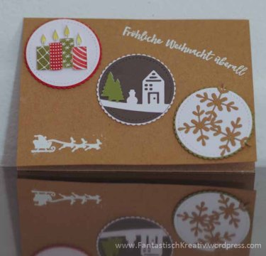 Stampin Up - Weihnachtskarte zum Adventskalender-2608
